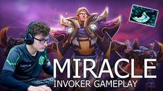 Miracle Invoker геймплей ММР - Dota 2