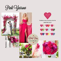 Ideias e inspirações na cor Pink Yarrow tendência escolhida pela Pantone para 2017.