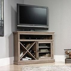 Sauder Corner Tv Stand Woodworking Projects Plans