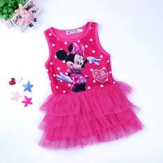 $4.99 (Buy here: https://alitems.com/g/1e8d114494ebda23ff8b16525dc3e8/?i=5&ulp=https%3A%2F%2Fwww.aliexpress.com%2Fitem%2F2016-Summer-Girls-Cartoon-Tutu-Vest-Dress-Baby-Toddler-Girls-Sleeveless-Minnie-Dress-Children-Polka-Dont%2F32642846316.html ) Girl Dress 2016 Summer Cute Baby Girls Sleeveless Dress Cartoon Minnie Girls Party Wedding Vestidos Children Clothing Kids Dress for just $4.99