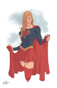 Supergirl by markpwhitaker on DeviantArt