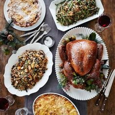 Large Complete Turkey Dinner, Christmas Delivery #williamssonoma