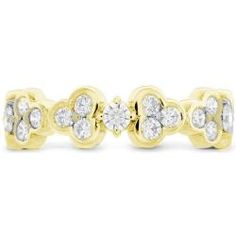 This Hearts On Fire Effervescence diamond band is perfect to wear alone or stacked with others. The unique design gives the impression of champagne bubbles and fizz. Goldstein's Jewelry, Mobile AL