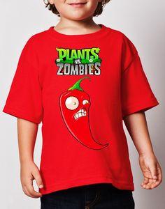 $159.00 Playeras Estilo Plantas Vs Zombies 1,2,3,4 - Jinx