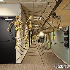 Halloween decorations : IDEAS & INSPIRATIONS  Halloween Decorations Large Spiderweb - Oriental Trading