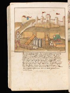 Spiezer Chronik by chronicler Diebold Schilling, 1484/85;  Bern, Burgerbibliothek; Mss.h.h.I.16, f. 648