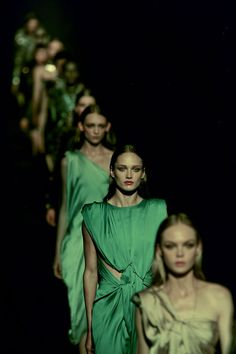 Lanvin #S/S 2012 - Green colors