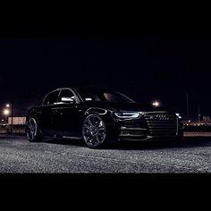 Beautiful Black Audi