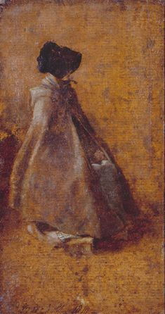 'Study of a Girl in a Cloak and Bonnet', John Constable, ca. 1810; TC T03607