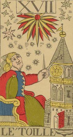 XVII - The Star - Vandenborre Bacchus Tarot (Tarot Flamand de 1780)