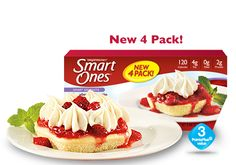 Weight Watchers® Smart Ones® Strawberry Shortcake