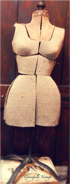 Old Dress Form..