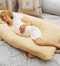 U Pillow Full Shape Body Back Support Maternity Nursing Microfiber Cover 12Ft