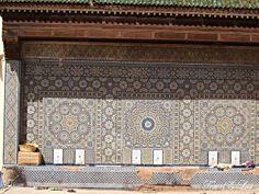 Fountain in the medina of Meknes, Morocco