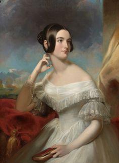 Miss Jane Mercer, Samuel Bell Waugh, 1840