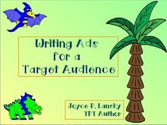 This flip chart breaks down steps for students to create an ad related to a novel or book being studied. Students decide who the ad will be written for, determine the target audience of a familiar ad, and create a product to be used by a fictional character from a novel.This product is also available in active software.