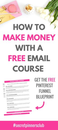 Did you know you can actually make money with a free email course? Learn how a free email course can help you create passive income in your business. Make Money Blogging, Money Tips, Way To Make Money, Earn Money, Make Money Online, Blogging Ideas, Money Fast, Email Marketing, Affiliate Marketing