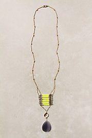 A dash of color necklace