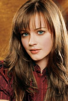 Alexis Bledel: I love her character Rory from the Gilmore Girls, a very shy and introverted bookworm. I can relate.