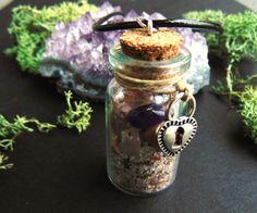 Love Pendant by EarthSpiritandStars on Etsy www.etsy.com/shop/earthspiritandstars #lovespells