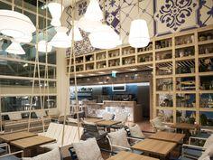 Azzurro restaurant by Andrin Schweizer Company, Zurich