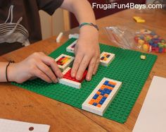 Multiplication with Legos: Candy Store Math Problem candy boxes marilyn burns multiplication book 4th Grade Math Games, Fun Math Games, Third Grade Math, Math Activities, Lego Math, Math Multiplication, Math Classroom, Math Stations, Math Centers