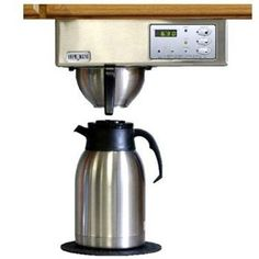 Brewmatic Under Counter Stainless Steel Coffee Maker Is One Of The Best It Can Be Used On A Boat Or In Recreational Vehicle