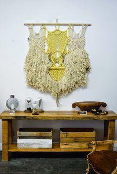 n a t a l i e m i l l e r: weaving & macrame