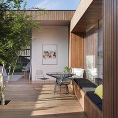 Simply amazing | This project designed by @mattgibsonad in Melbourne is exactly why we incorporate decking into builds. Unbelievable finish on this courtyard house. Project: The Courtyard House Photographer: @shannonmcgrath7 ———————————————— #outdure #qwickbuild #deckframe #resortdeck #decking #decklife #outdoorliving #outdoordesign #exteriordesign #tiles #architecture #deckjack #porchlife #sydney #auckland #london #newyork #rooftop #carpentryaustralia #Regram vi