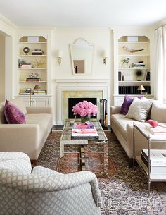 Get expert advice on purchasing the right rug for your budget | Designer: Anne Hepfer Photographer: Virginia Macdonald