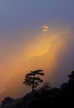 Light at sunset, Corsica, France, by Beautiful Sky, Beautiful World, Beautiful Places, Beautiful Pictures, Corsica, Sky Sunset, Landscape Photography, Nature Photography, Nova Era