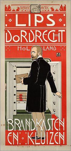 ART & ARTISTS: Vintage Dutch Posters