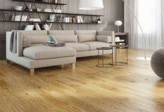 Clyde Engineered Brushed and Oiled Oak 1 Strip Flooring Wooden Flooring, Vinyl Flooring, Oak Flooring, Blond, Engineered Wood Floors, Living Room Flooring, House Design, Furniture, Home Decor
