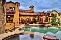 Mediterranean-style Villa home-is-where-the-heart-is