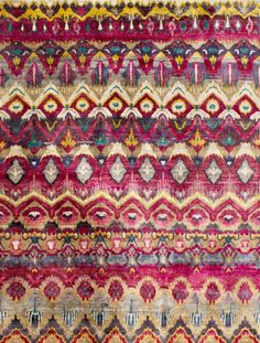 Rug Love: Rumi Silk Collection by Woven Concepts | The English Room
