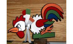 Rooster Whirligig