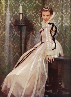 Vivien Leigh in Fire Over England (1937)   Vivien Leigh  originally vintagesonia