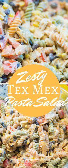 Zesty Tex Mex Pasta Salad Recipe