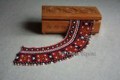 Бісерна прикраса. Силянка українкська. Handmade