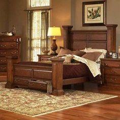 Progressive Furniture 6165 Torreon Bed | ATGstores.com