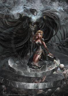Stealer of Souls by Irulana.deviantart.com on @DeviantArt