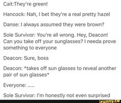 Deacon and his sunglasses