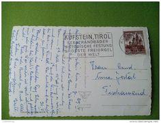 AUSTRIA 1938 9537 THIERSEE I.T. MIT KAISERGEBIDGE STAMP 1S OSTERREICH TIROL SPECIAL SEAL KUFSTEIN DER WELT RRR - Kufstein