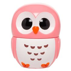 FOREVER 21 Owl-Shaped Lip Balm (15 SAR) ❤ liked on Polyvore featuring beauty products, skincare, lip care, lip treatments, makeup, beauty, lips, fillers, accessories and pink