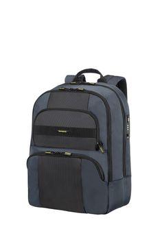 "Samsonite Infinipak Security Laptop Rucksack 15.6"" Blue/Black"