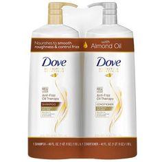 Dove Anti-Frizz Oil Therapy Shampoo & Conditioner Fluid Ounce, 2 P Batiste Dry Shampoo, Moisturizing Shampoo, Tio Nacho Shampoo, Dove Shampoo And Conditioner, Shampoo For Damaged Hair, Anti Hair Loss Shampoo, Shea Butter Shampoo, Tresemme Keratin Smooth, Herbal Essences