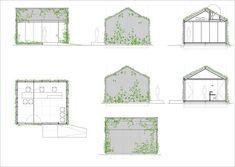 Tennis & Padel School Office,Office Plans