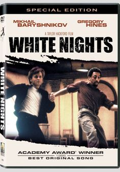 White Nights with Mikhail Baryshnikov and Gregory Hines <3 this movie