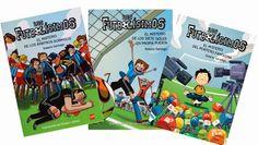 Los Futbolísimos es una colección de fútbol y misterio escrita en clave de humor.   Esta serie de libros trata valores como la educación, el deporte, el trabajo en equipo y la amistad.