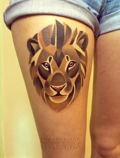 watercolor tattoo animals - Buscar con Google